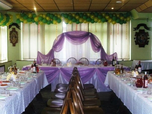 Украшение зала на свадьбу своими руками пошагово